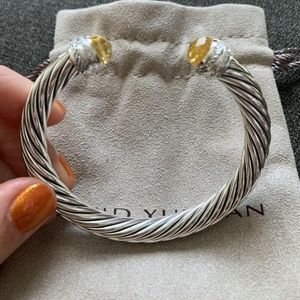 David Yurman Bracelet Lemon Citrine & Diamonds
